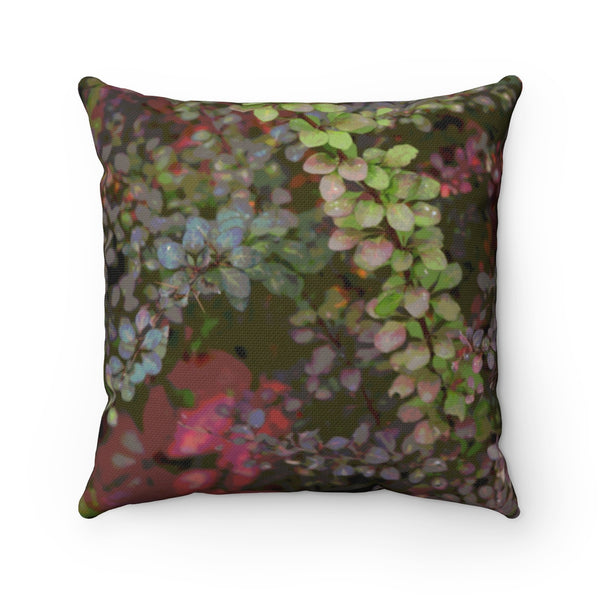 Fall Spun Polyester Square Pillow - Kindred Photographic Designs by Kindred Photography LLC