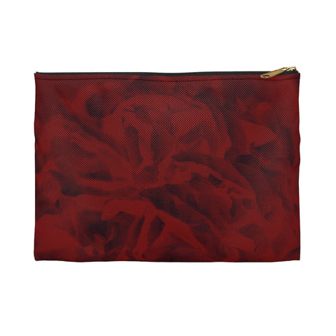 Accessory Pouch in Red Peony - Kindred Photographic Designs by Kindred Photography LLC