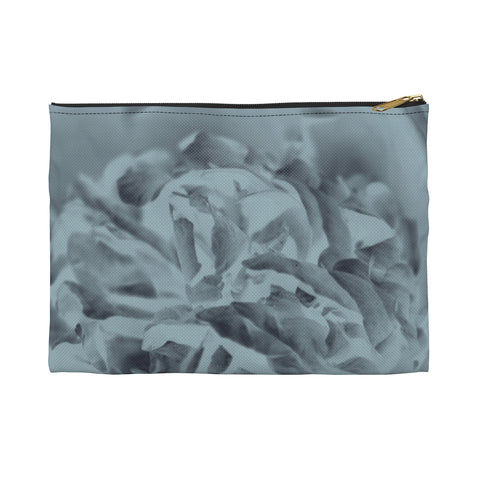 Accessory Pouch in Aqua Peony - Kindred Photographic Designs by Kindred Photography LLC