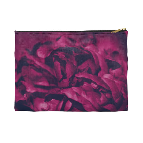 Accessory Pouch in Magenta Peony - Kindred Photographic Designs by Kindred Photography LLC