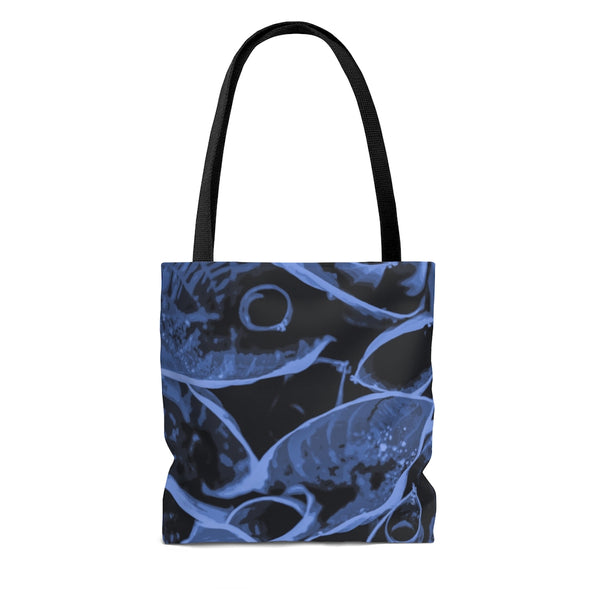 Tote Bag in Blue Hasta - Kindred Photographic Designs by Kindred Photography LLC