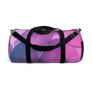 Duffel Bag in Bright Pink Hasta - Kindred Photographic Designs by Kindred Photography LLC