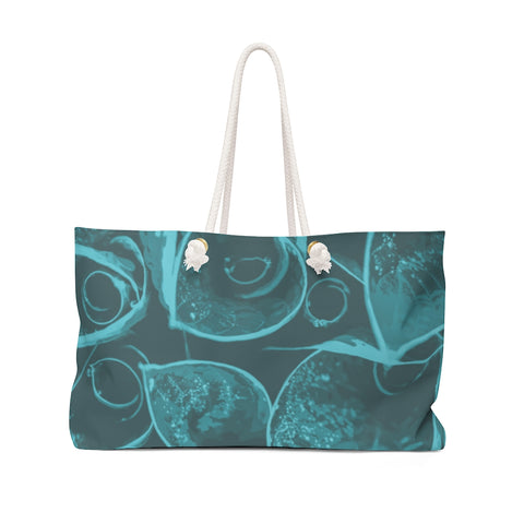 Weekender Bag in Teal Hasta - Kindred Photographic Designs by Kindred Photography LLC