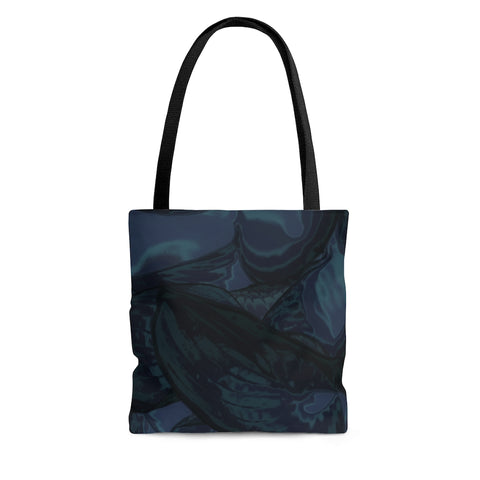 Tote Bag in Navy Hasta - Kindred Photographic Designs by Kindred Photography LLC