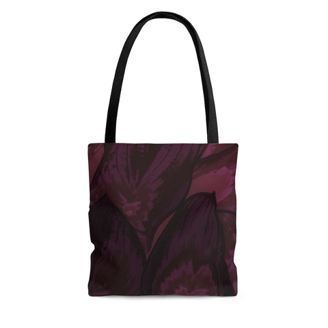 Tote Bag in Maroon Hasta - Kindred Photographic Designs by Kindred Photography LLC