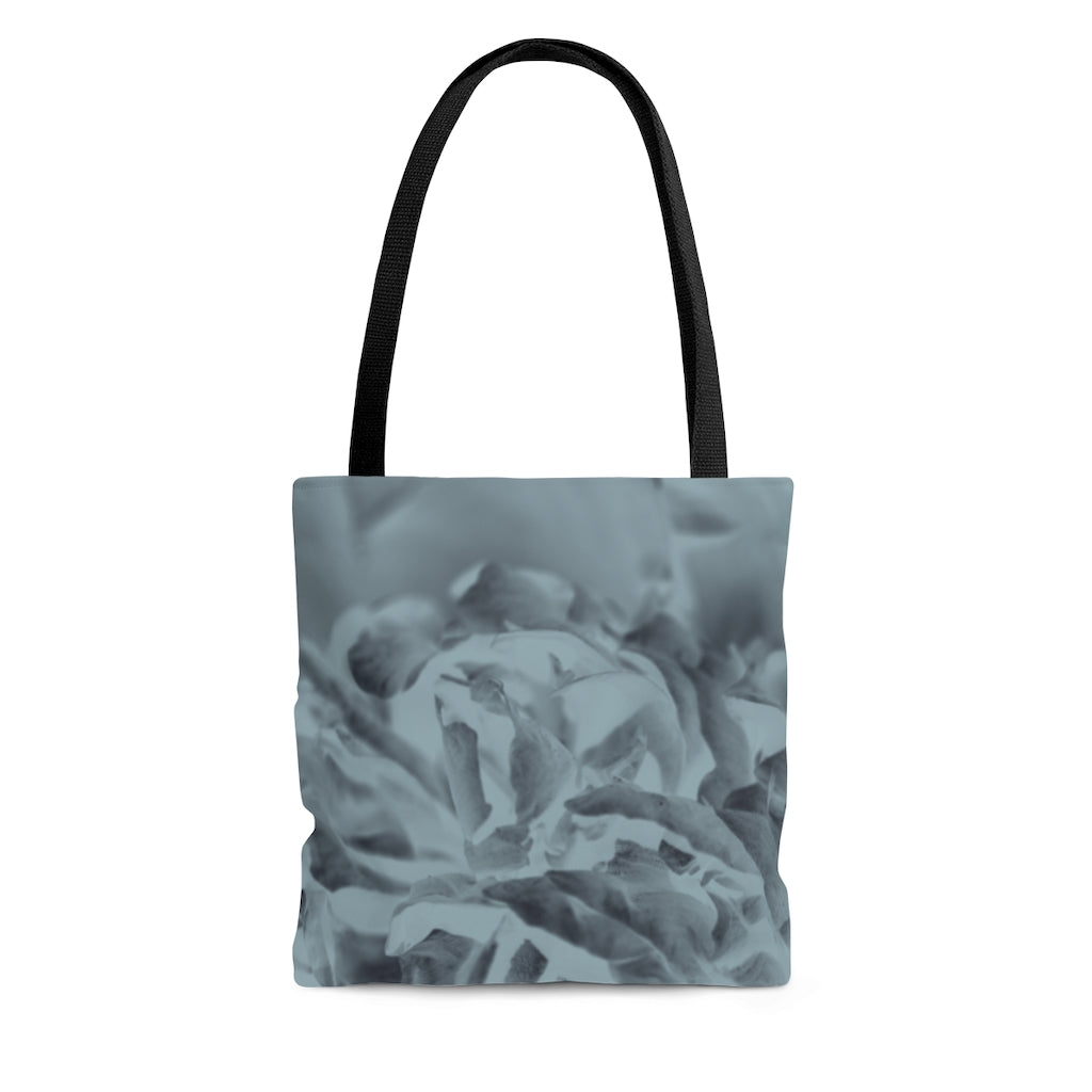Tote Bag in Aqua Peony - Kindred Photographic Designs by Kindred Photography LLC