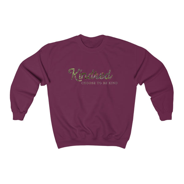 Choose to Be Kind Heavy Blend™ Crewneck Sweatshirt - Kindred Photographic Designs by Kindred Photography LLC