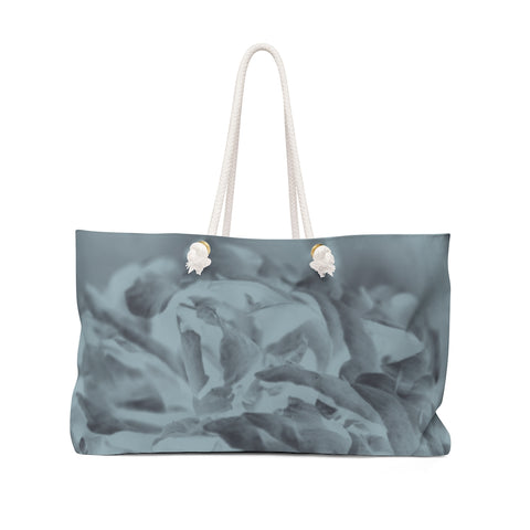 Weekender Bag in Aqua Peony - Kindred Photographic Designs by Kindred Photography LLC