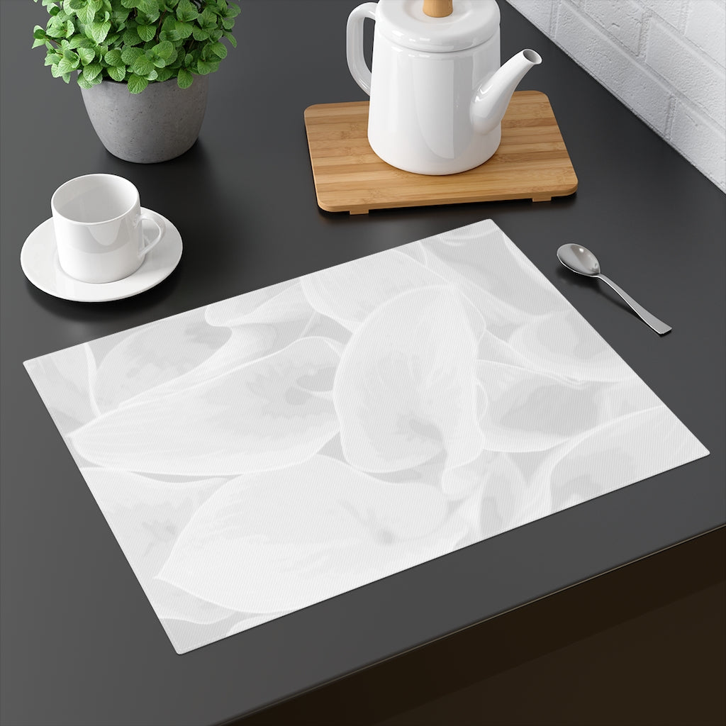 Grey Hasta Placemat - Kindred Photographic Designs by Kindred Photography LLC
