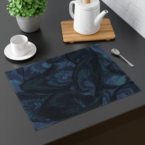 Navy Hasta Placemat - Kindred Photographic Designs by Kindred Photography LLC