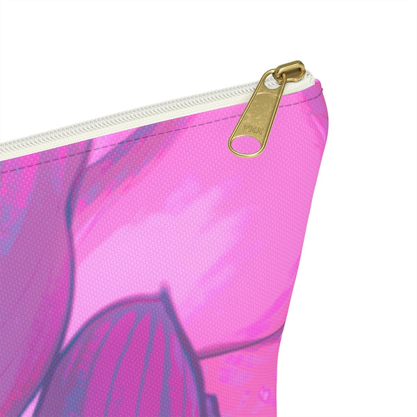 Accessory Pouch w T-bottom in Pink Hasta - Kindred Photographic Designs by Kindred Photography LLC