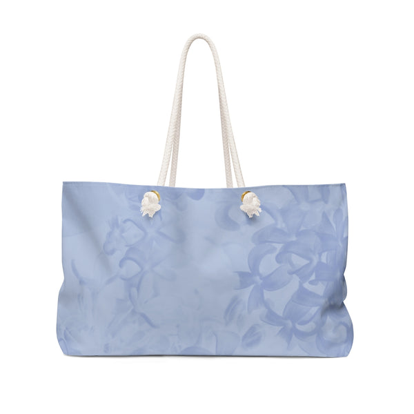 Weekender Bag in Blue Lilac - Kindred Photographic Designs by Kindred Photography LLC
