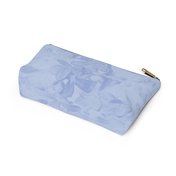 Accessory Pouch w T-bottom in Blue Lilac - Kindred Photographic Designs by Kindred Photography LLC