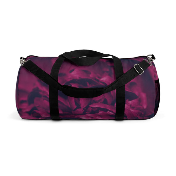 Duffel Bag in Magenta Peony - Kindred Photographic Designs by Kindred Photography LLC