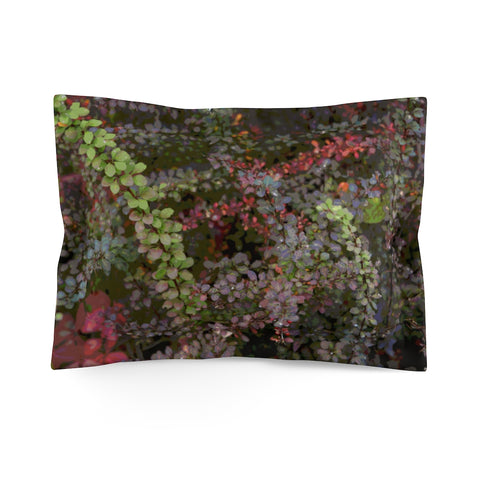 Fall Microfiber Pillow Sham - Kindred Photographic Designs by Kindred Photography LLC