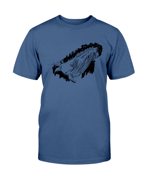 Humpback Whale T-Shirt - Kindred Photographic Designs by Kindred Photography LLC