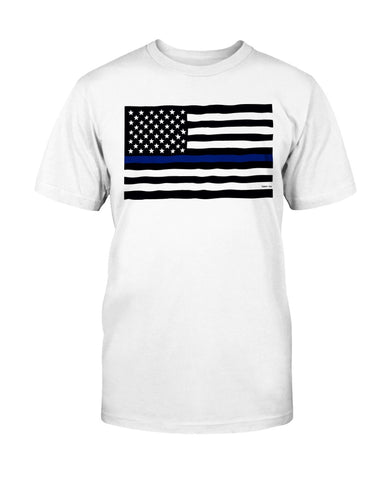 Police Flag T-Shirt - Kindred Photographic Designs by Kindred Photography LLC