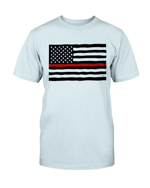 Firefighter's Flag T-Shirt - Kindred Photographic Designs by Kindred Photography LLC