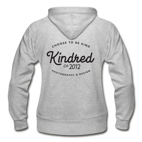 Gildan Heavy Blend Women's Zip Hoodie - Kindred Photographic Designs by Kindred Photography LLC