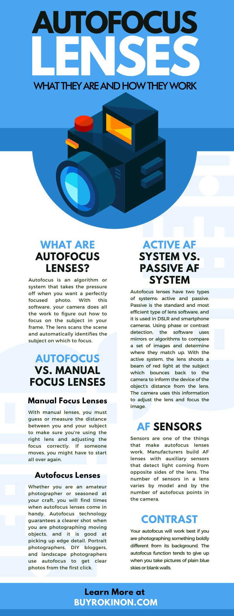Autofocus Lenses: What They Are and How They Work