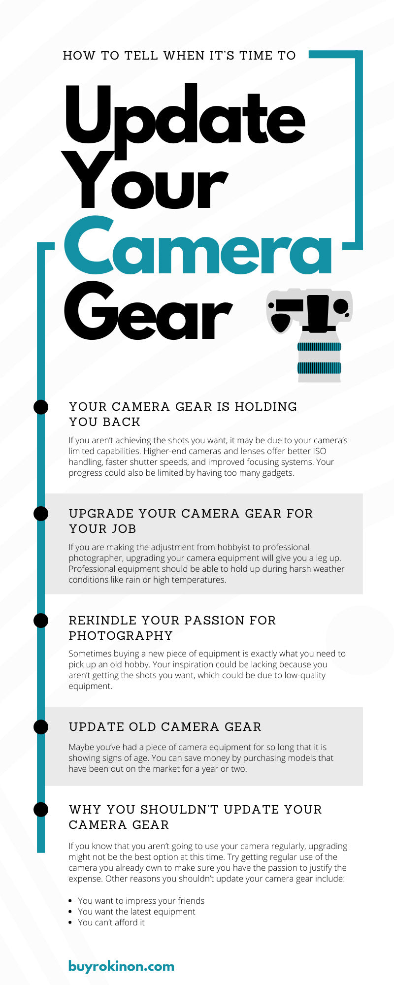 How To Tell When It's Time To Update Your Camera Gear