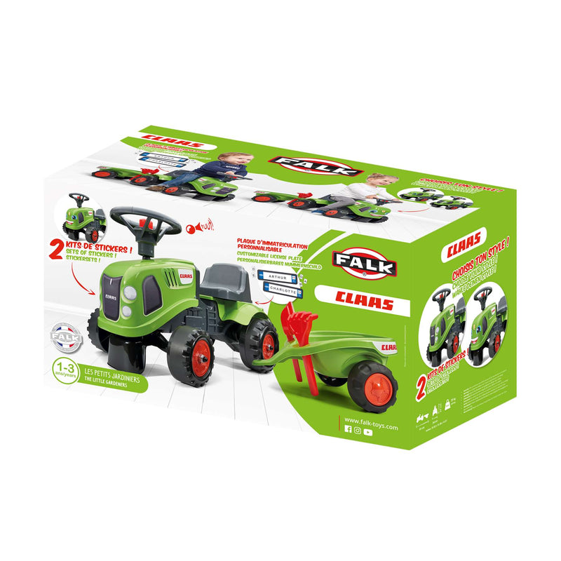 Falk Baby Claas Ride-On | Jongens | Groen | Tractor