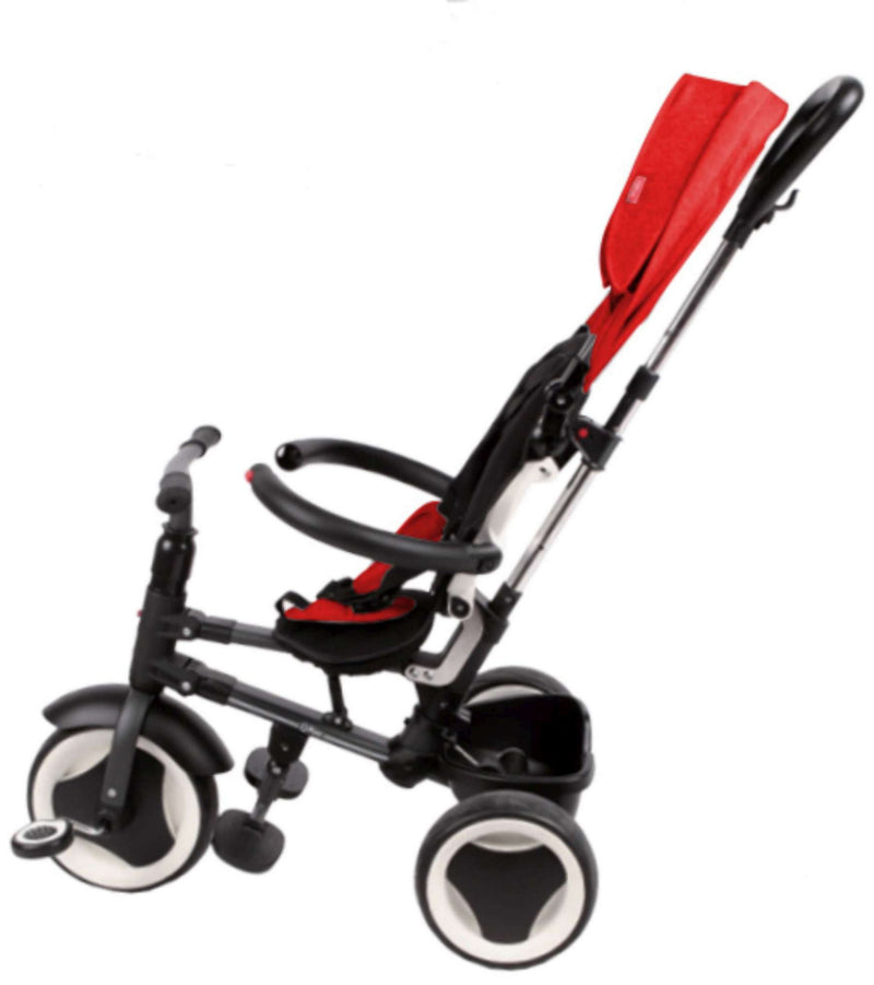 QPlay Driewieler Rito Deluxe Rood