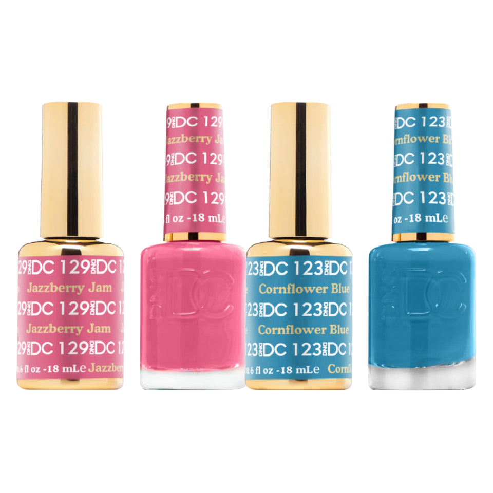 DC DUO GEL & MATCHING LACQUER