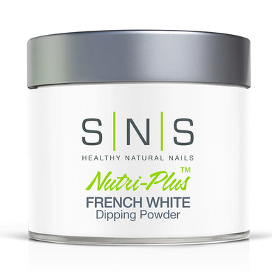 SNS French White Dipping Power Pink & White - 4oz