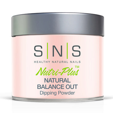 SNS Natural Balance Out Dipping Power Pink & White - 4oz