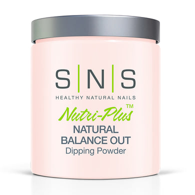 SNS Natural Balance out Dipping Power Pink & White - 16oz