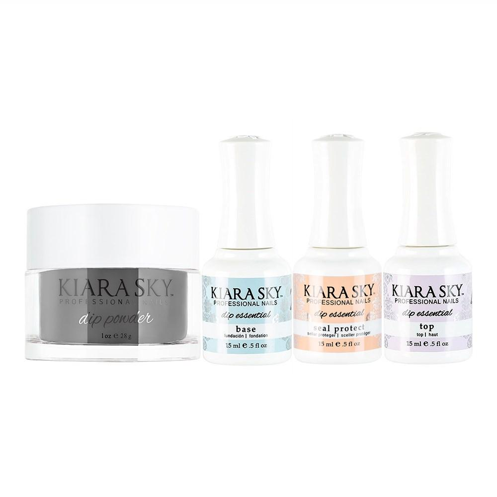 Kiara Sky - Base, Top, Sealer Protect, Dip Powder Combo - 434 Styleletto