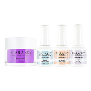 Kiara Sky - Base, Top, Sealer Protect, Dip Powder Combo - 590 Wanderlust