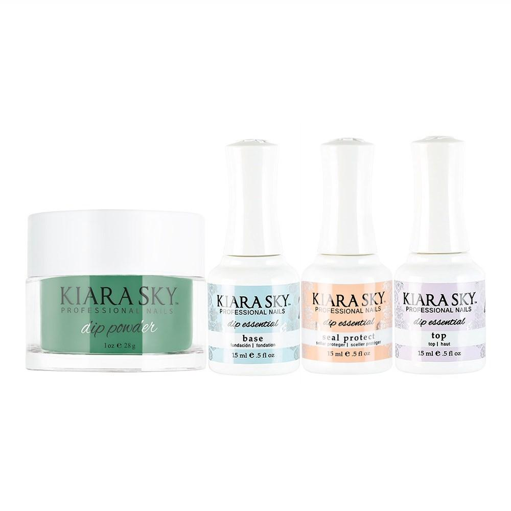 Kiara Sky - Base, Top, Sealer Protect, Dip Powder Combo - 622 Pretty Fly