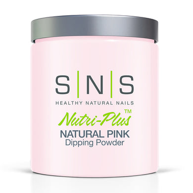SNS Natural Pink Dipping Power Pink & White - 16oz