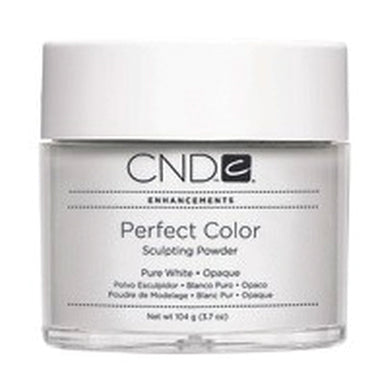 CND Perfect Color Sculpting Powder - Pure White Opaque 3.7 oz