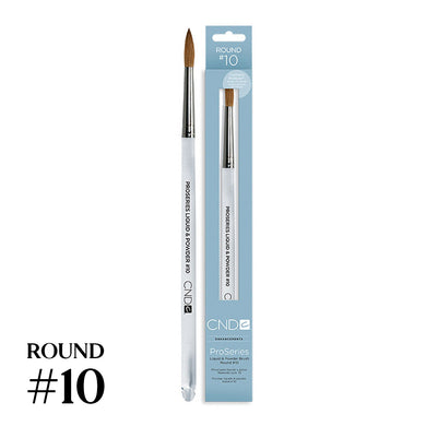 CND Pro Series L&P Brush Round #10