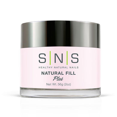 SNS Natural Fill Dipping Power Pink & White - 2 Oz