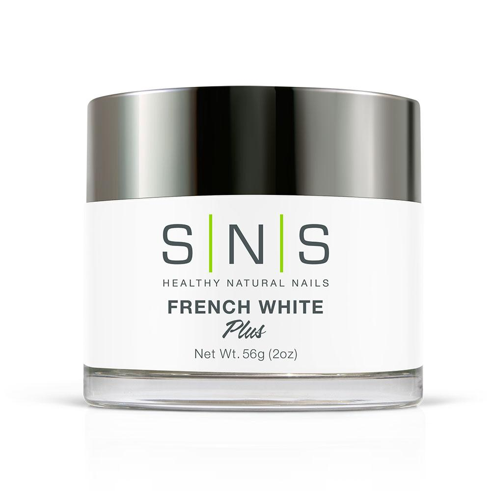 SNS French White Dipping Power Pink & White - 2 Oz