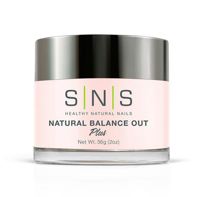 SNS Natural Balance Out Dipping Power Pink & White - 2 Oz