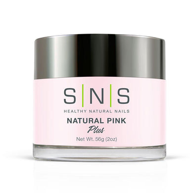 SNS Natural Pink Dipping Power Pink & White - 2 Oz
