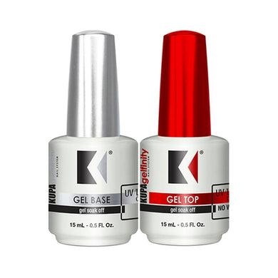 KUPA Gelfinity - Gel Base & Top - 0.5 oz