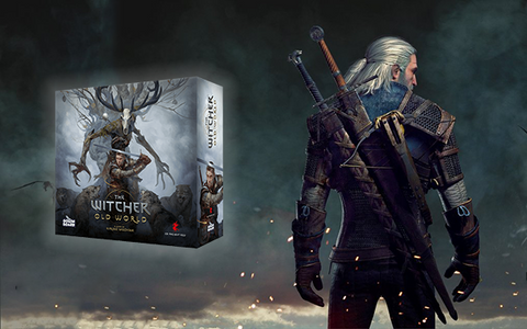 Witcher Old World Board Game