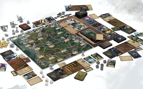 Witcher Old World Game Board