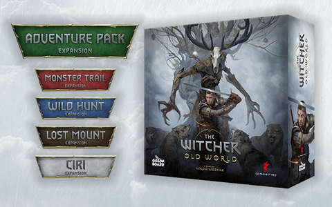 The Witcher Old World and Expansions