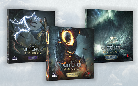 The Witcher Old World Expansions Box Art