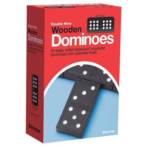 Dominoes: Double Nine - Wooden
