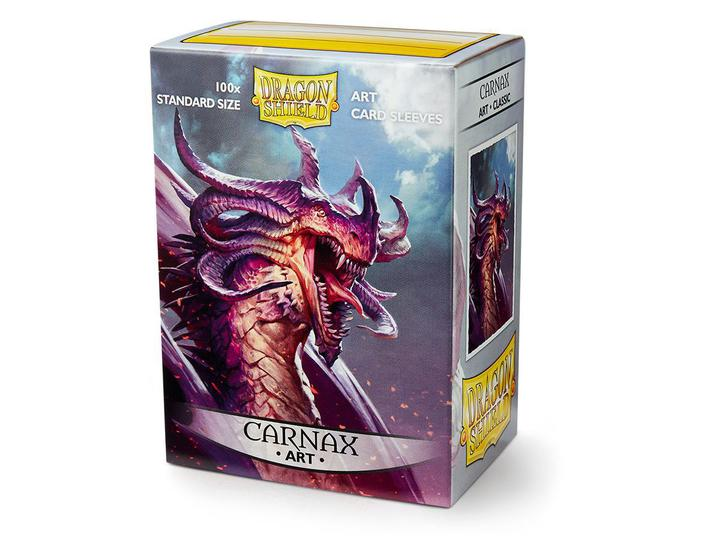Dragon Shield: Art Deck Protector Sleeves - Standard Size 'Carnax' (100)