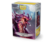 Load image into Gallery viewer, Dragon Shield: Art Deck Protector Sleeves - Standard Size 'Carnax' (100)