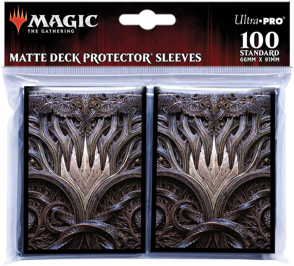 Ultra Pro: Deck Protector Sleeves - Kaldheim 'Planeswalker Symbol' - for Magic the Gathering (100)